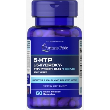 Puritans Pride 5-HTP 100 mg 60 капсул
