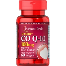 Puritan`s Pride Co Q-10 100 mg 60 капсул