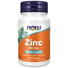 Now Zinc Gluconate 50 mg 100 таблеток (Цинк глюконат)