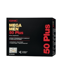 Витамины GNC Mega Men® 50 Plus Vitapak® Program 30 пакетов
