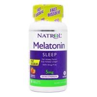 Natrol® Melatonin 5 mg 90 таблеток (Клубника)