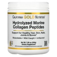 California Gold Nutrition Hydrolyzed Marine Collagen Peptides 200 грамм
