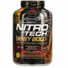 Muscletech® Nitro Tech™ 100% Whey Gold 2,51 кг (Клубника)