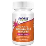 Now Vitamin D-3 10,000 IU 120 капсул  (Витамин Д)