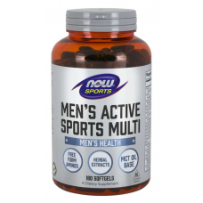 NOW Men's Active Sports Multi 180 Softgels