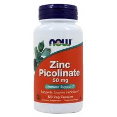 Now Zinc Picolinate 50mg 120 капсул (Цинк пиколинат)
