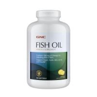 Жирные кислоты GNC Fish Oil 360 softgels  (Натуральный вкус лимона)