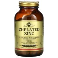 Solgar® Zinc Chelated 250 таблеток (глицинат цинка)