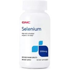 GNC Selenium 200 mcg 200 таблеток (Селен)