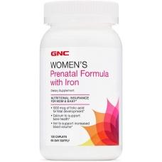 GNC Womens Prenatal Formula with Iron 120 таблеток
