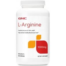 Аргинин GNC L-Arginine 1000 180 капсул