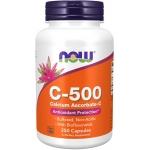 Now C-500 Calcium Ascorbate 250 капсул