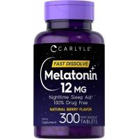 Carlyle™ Melatonin 12 mg 300 быстро растворимых таблеток