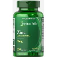 Puritan's Pride Zinc Gluconate 50 mg 250 таблеток (Цинк глюконат)