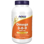 NOW Omega 3-6-9 1000 mg 250 капсул