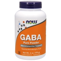 Now GABA 170 грамм ГАМК (гамма-аминомасляная кислота)