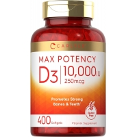 Carlyle™ Vitamin D-3 10.000IU 400 Softgels (Витамин Д)