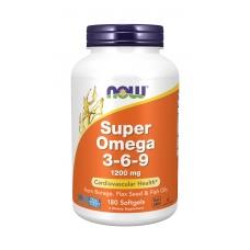 Now Super Omega 3-6-9 1200 mg 180 softgels