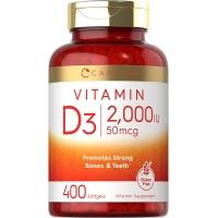 Carlyle™ Vitamin D-3 2000IU 400 Softgels (Витамин Д)