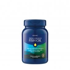 Жирные кислоты GNC Triple Strength Fish Oil 60 капсул