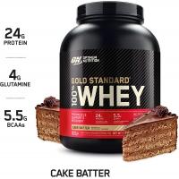 Optimum Nutrition® 100% Whey Gold Standard™ 2,27 кг (Cake Batter)