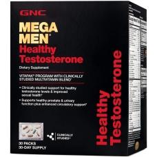 GNC Mega Men Healthy Testosterone Vitapak® 30 пакетиков