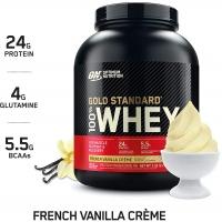 Optimum Nutrition® 100% Whey Gold Standard™ 2,27 кг (French Vanilla Creme)
