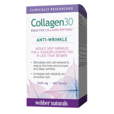 Webber Naturals Collagen30 Verisol® 2500mg 180 таблеток