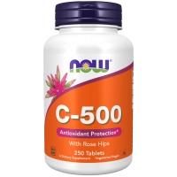 Now C-500 250 таблеток (Витамин Ц с плодами шиповника)