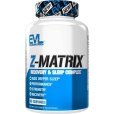 EVLution Nutrition Z-MATRIX 240 капсул (Цинк+магний+B6)