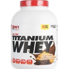 San 100% Pure Titanium Whey 2,27 кг (chocolate graham crasher)