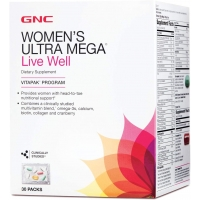 GNC Womens Ultra Mega® Live Well Vitapak® Program 30 пакетов