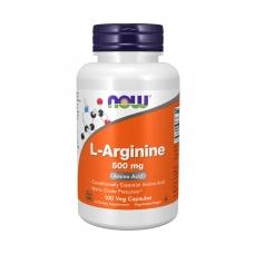 Now L-Arginine 500 mg 100 капсул (Аргинин)