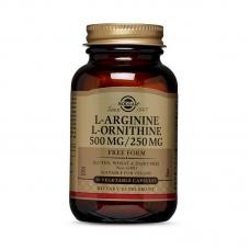 Solgar L-Arginine L-Ornithine 500/250 50 veg caps