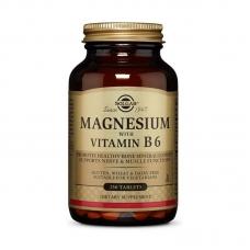 Solgar Magnesium with Vitamin B6 250 таблеток
