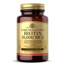 Solgar Biotin 10 000 mcg 60 veg caps