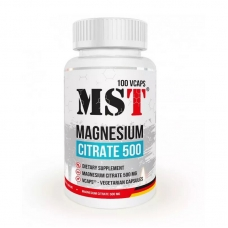 MST Magnesium Citrate 500 100 veg капсул