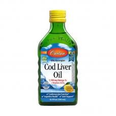 Carlson Labs Cod Liver Oil 1100 mg Omega-3s + Vitamins A & D3 250 ml