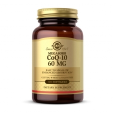 Solgar CoQ10 60 mg Megasorb 120 softgels
