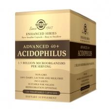 Solgar Advanced 40+ Acidophilus 120 veg caps