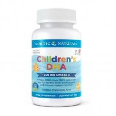 Nordic Naturals Children's DHA 250 mg Omega-3 360 mini softgels