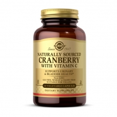 Solgar Cranberry with Vitamin C Naturally Sourced 60 veg caps