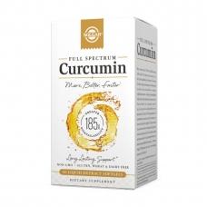 Solgar Full Spectrum Curcumin 60 liquid softgels