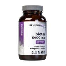 Bluebonnet Nutrition Biotin 10 000 mcg 90 veg caps