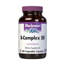Bluebonnet Nutrition B-Complex 50 100 veg caps