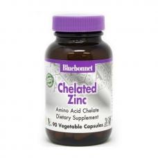 Bluebonnet Nutrition Chelated Zinc 90 veg caps