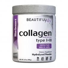 Bluebonnet Nutrition Collagen Type l + lll 198 грамм