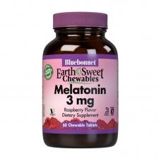 Bluebonnet Nutrition Melatonin 3 mg 60 chew tabs