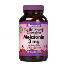 Bluebonnet Nutrition Melatonin 3 mg 120 chew tabs