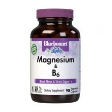 Bluebonnet Nutrition Magnesium & B6 90 veg caps